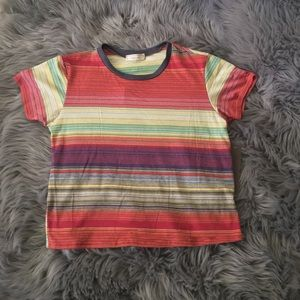 Tops - Colorful Static Tee